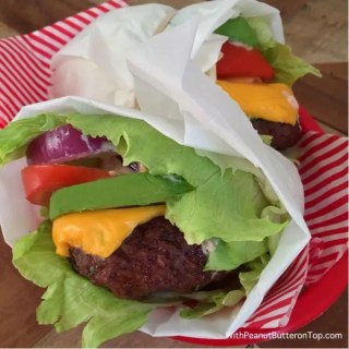 Low-Carb Chipotle Cheeseburger Lettuce Wrap