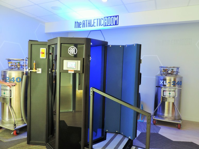Cryotherapy with The Athletic Room! - With Purpose and Kindness