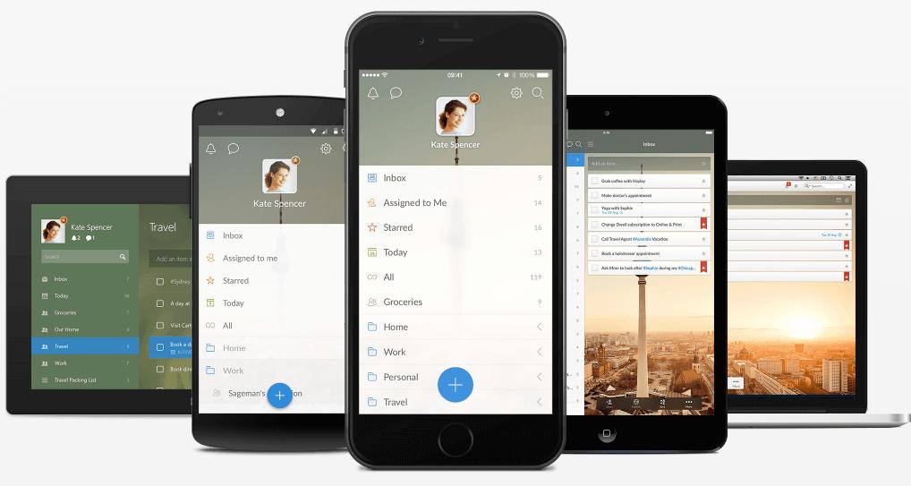 تطبيق Wunderlist لإدارة الأهداف والمهام وفريق العمل