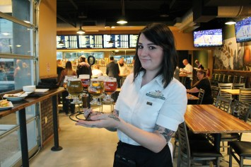 Our helpful and knowledgable server Kristyn