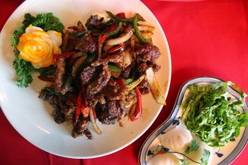 Beef and Pepper dish