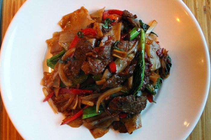 Jenna's Asian kitchen Beef Drunken Noodles