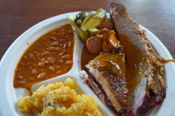 Salt Lick BBQ at The Bullock Museum