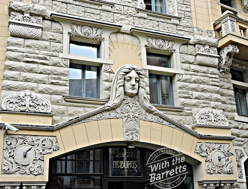 Facade of the Hotel Neiburgs