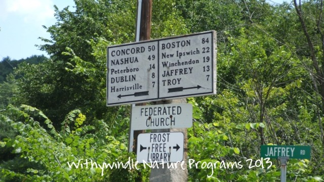 Marble NH Sign