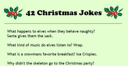 30 Funny Christmas Jokes And Riddles For Kids Adults Merry
