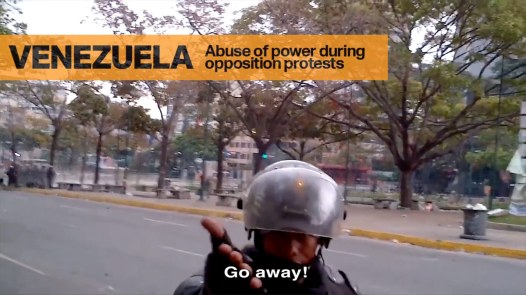 Abuse of Power During Protests in Venezuela