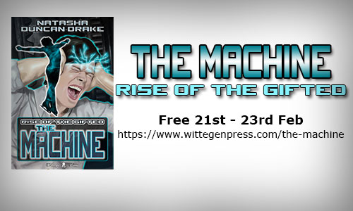 NEW RELEASE The Machine: Rise of the Gifted #SciFi #Gay #Romance
