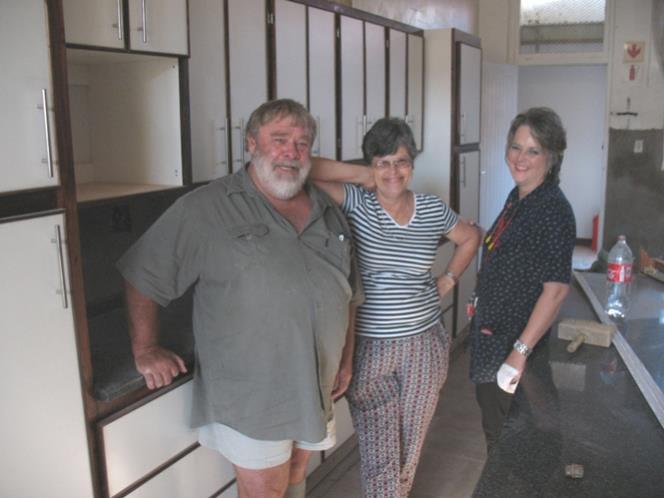 Die Küche im Pflegeheim Paulpietersburg wird renoviert