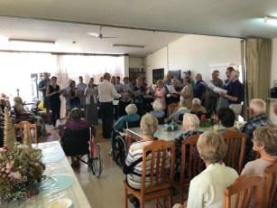 Lutherische Gemeinde Wittenberg - Gemeindebrief 03-2019 - Chorsingen am 23. Dezember in Huis Immergroen