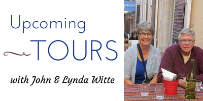 Guest Post: Upcoming Tours with John and Lynda Witte