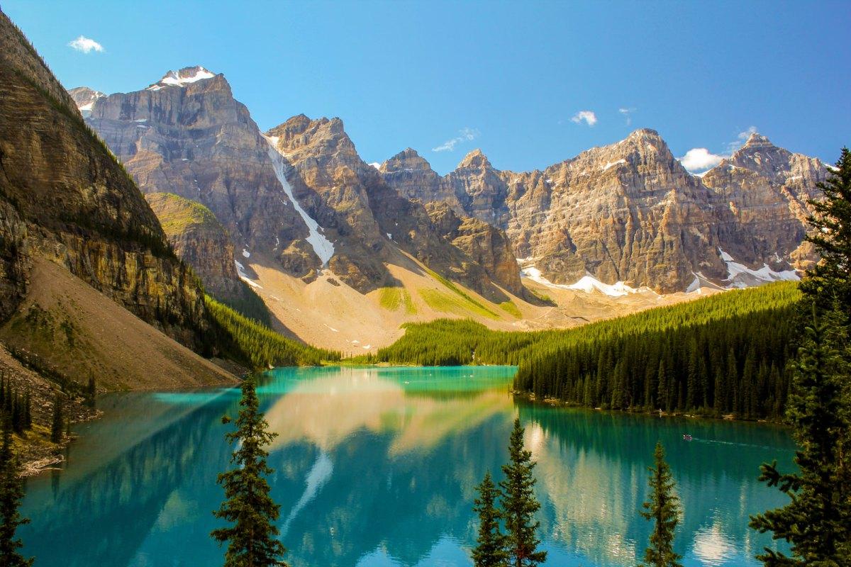 The Canadian Rockies with Glacier National Park