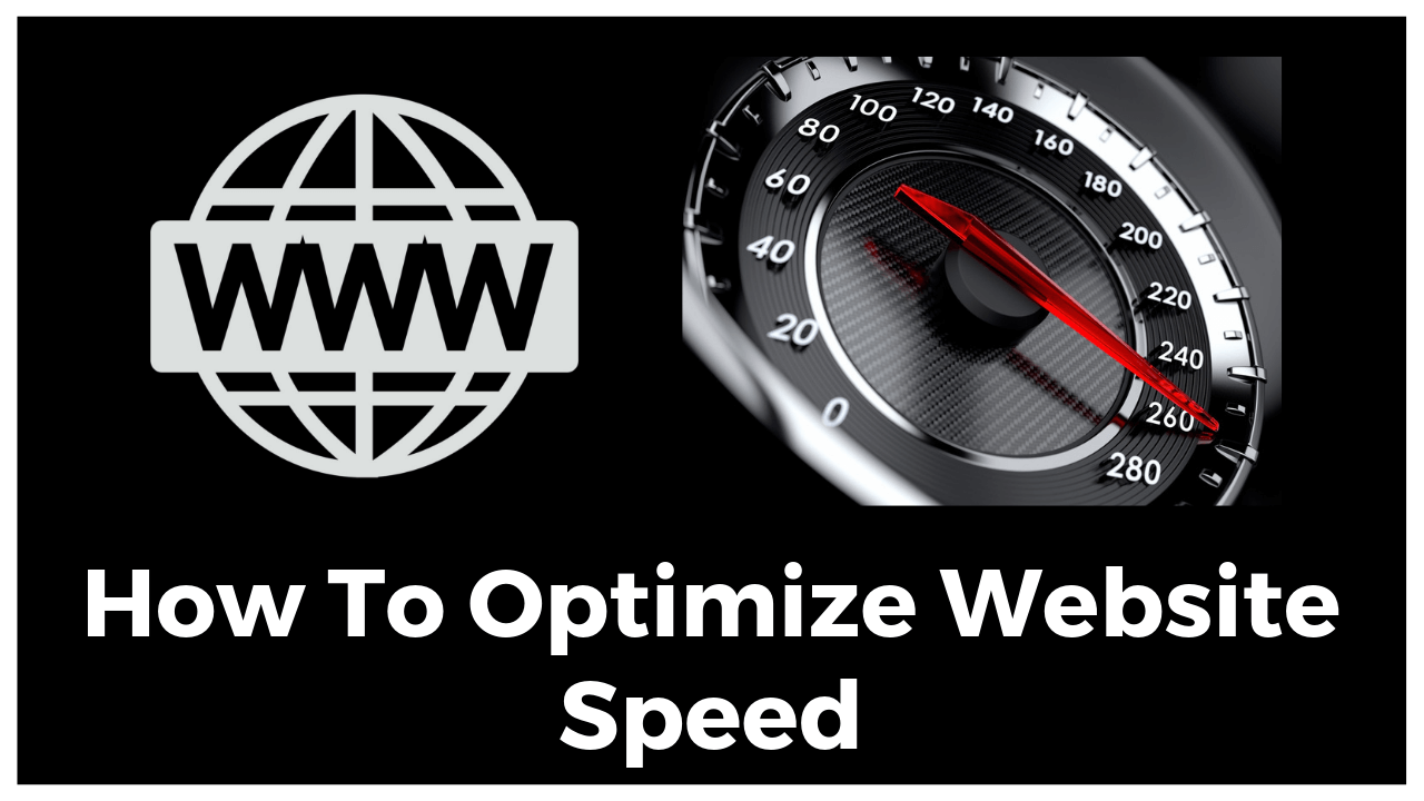 How To Optimize Website Speed