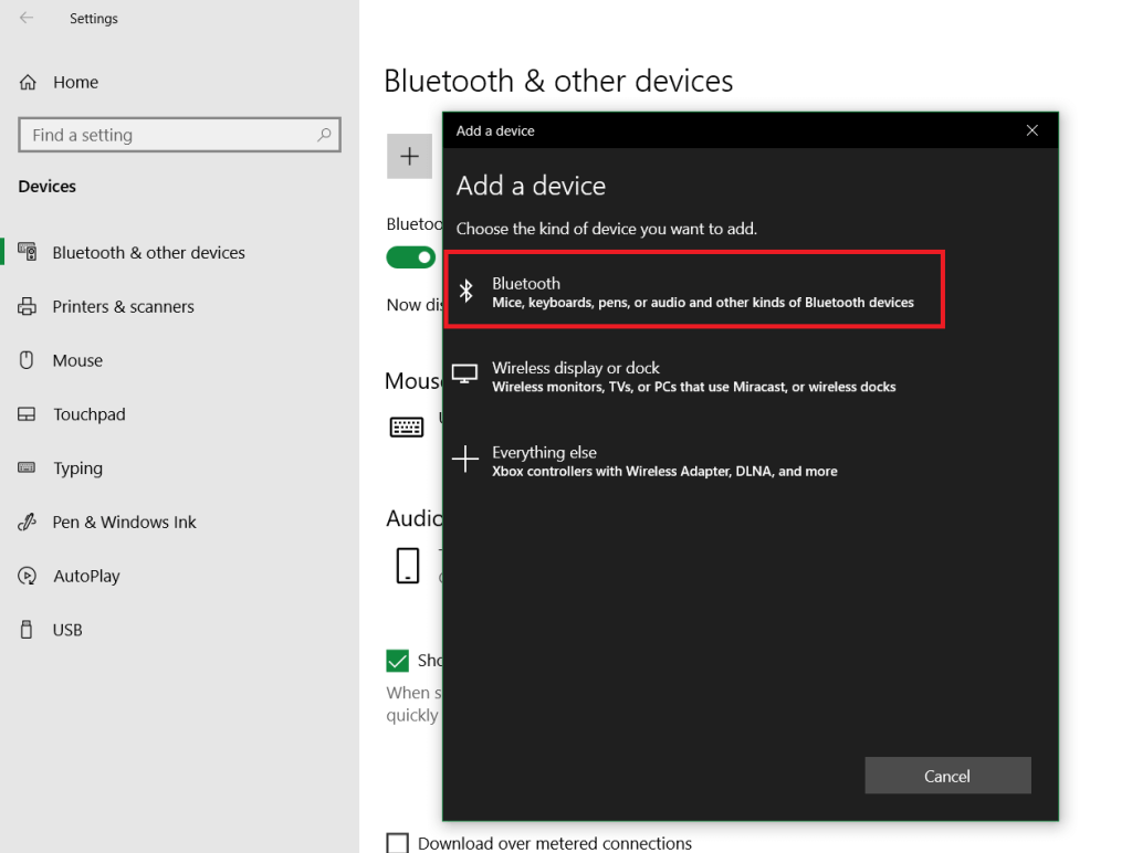 Connect Wireless Mouse To Windows 10