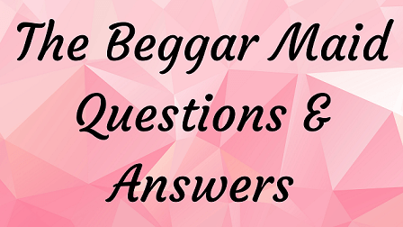 The Beggar Maid Questions & Answers