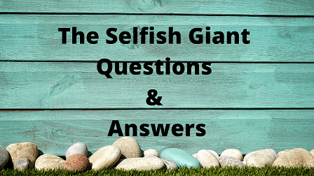 The Selfish Giant Questions & Answers