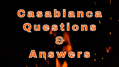 Casabianca Questions & Answers
