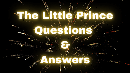 The Little Prince Questions & Answers