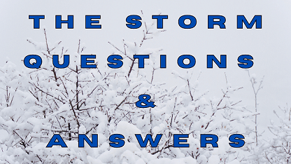 The Storm Questions & Answers
