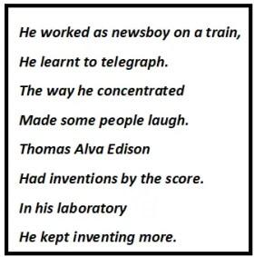 Thomas Alva Edison Questions & Answers