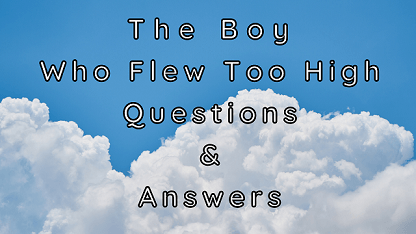 The Boy Who Flew Too High Questions & Answers