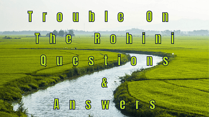 Trouble On The Rohini Questions & Answers