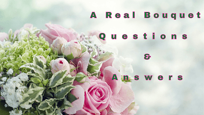 A Real Bouquet Questions & Answers