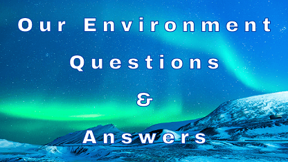 Our Environment Questions & Answers