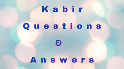 Kabir Questions & Answers