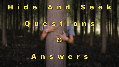 Hide and Seek Questions & Answers