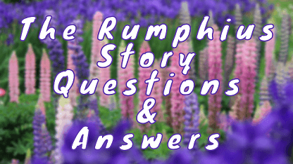 The Rumphius Story Questions & Answers