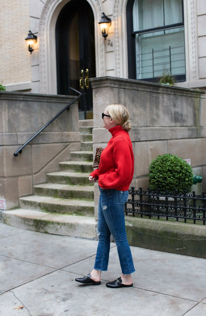 Mother Denim + H&M Sweater I wit & whimsy