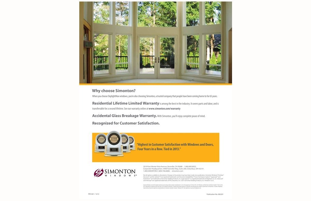 Simonton DaylightMax - WIT Windows and Doors - Redlands, Southern California