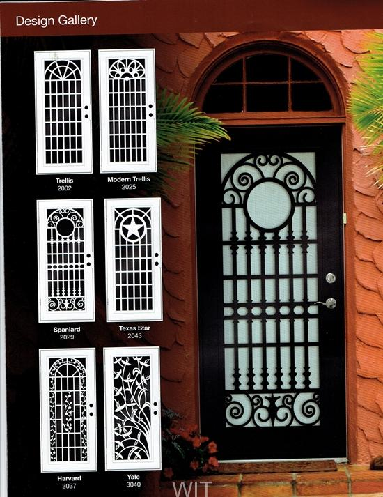Attractive For Double Doors Too! SECURITY DOORS PALM SPRINGS