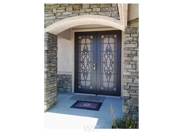 DOUBLE SECURITY DOORS BEAUMONT CALIFORNIA