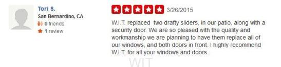 WIT Yelp Review 032615