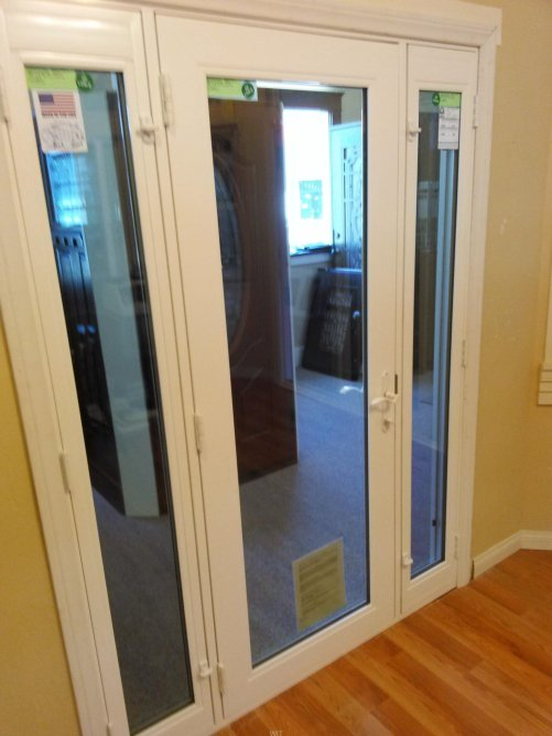 French Door with Sidelights