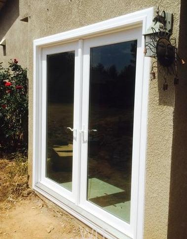 Vinyl Replacement French Doors
