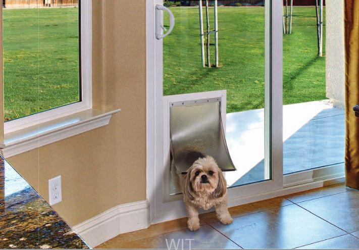 Pet Door in a Sliding Glass Door