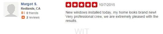 WIT Windows and Doors - Yelp Review