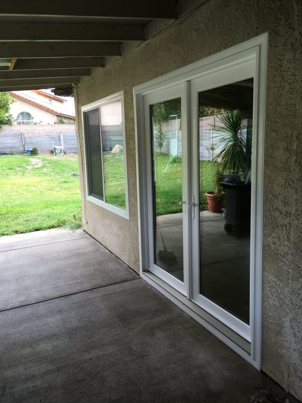 vinyl french door