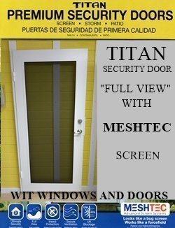 Meshtec security screen