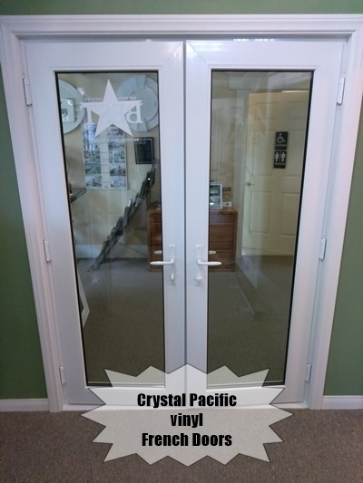 French Doors - Vinyl Crystal Pacific