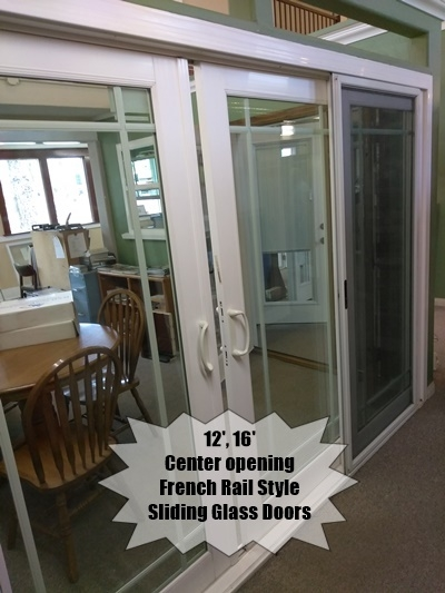 Large Center opening French Rail Style Patio Doors