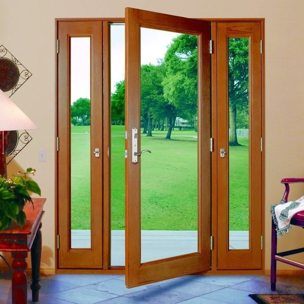 single french door with active side lites