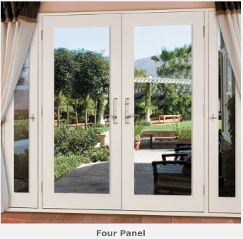 4 panel french door with active side lites