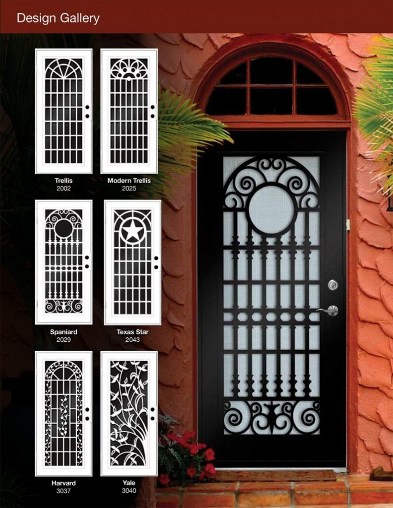 TITAN SECURITY SCREEN DOOR REDLANDS