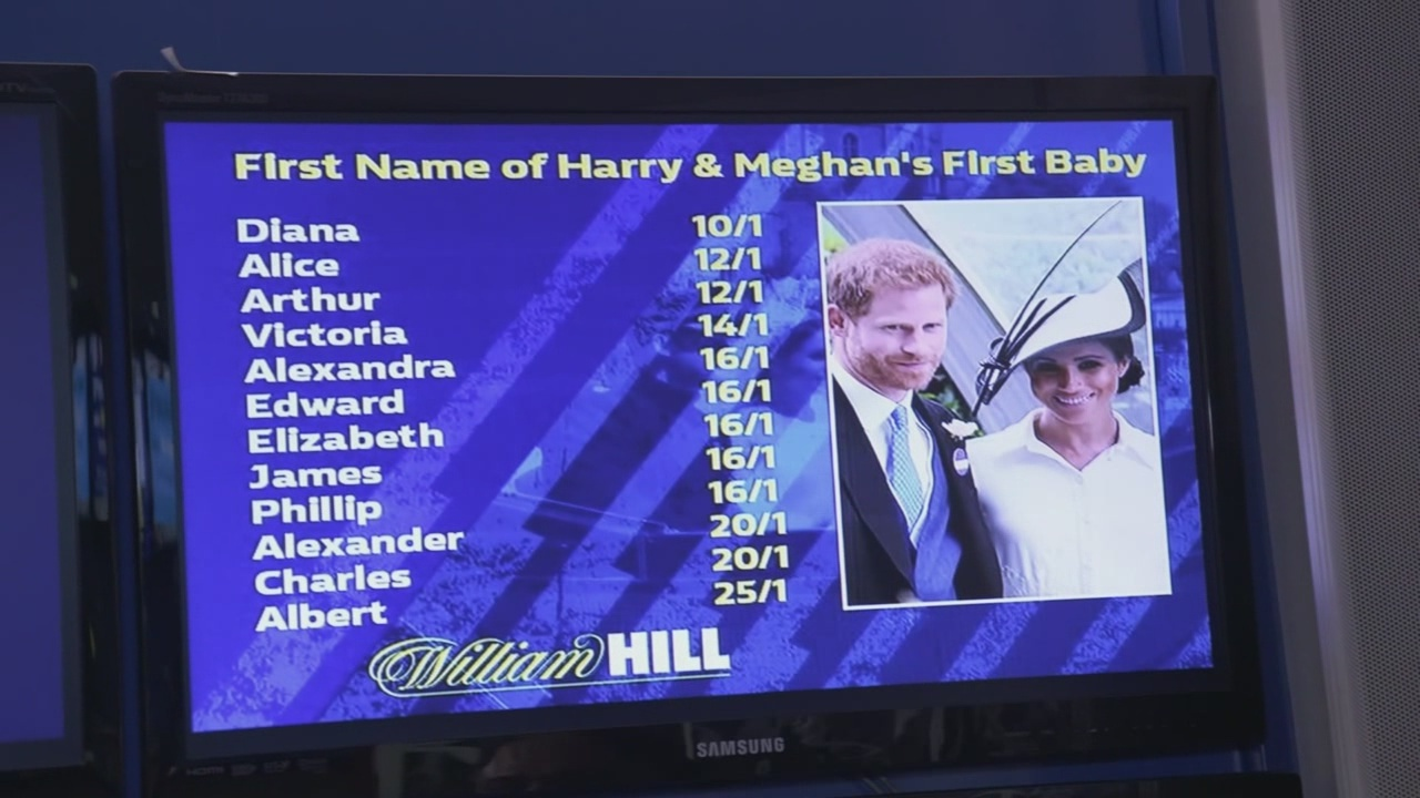 Betting on the royal baby's name