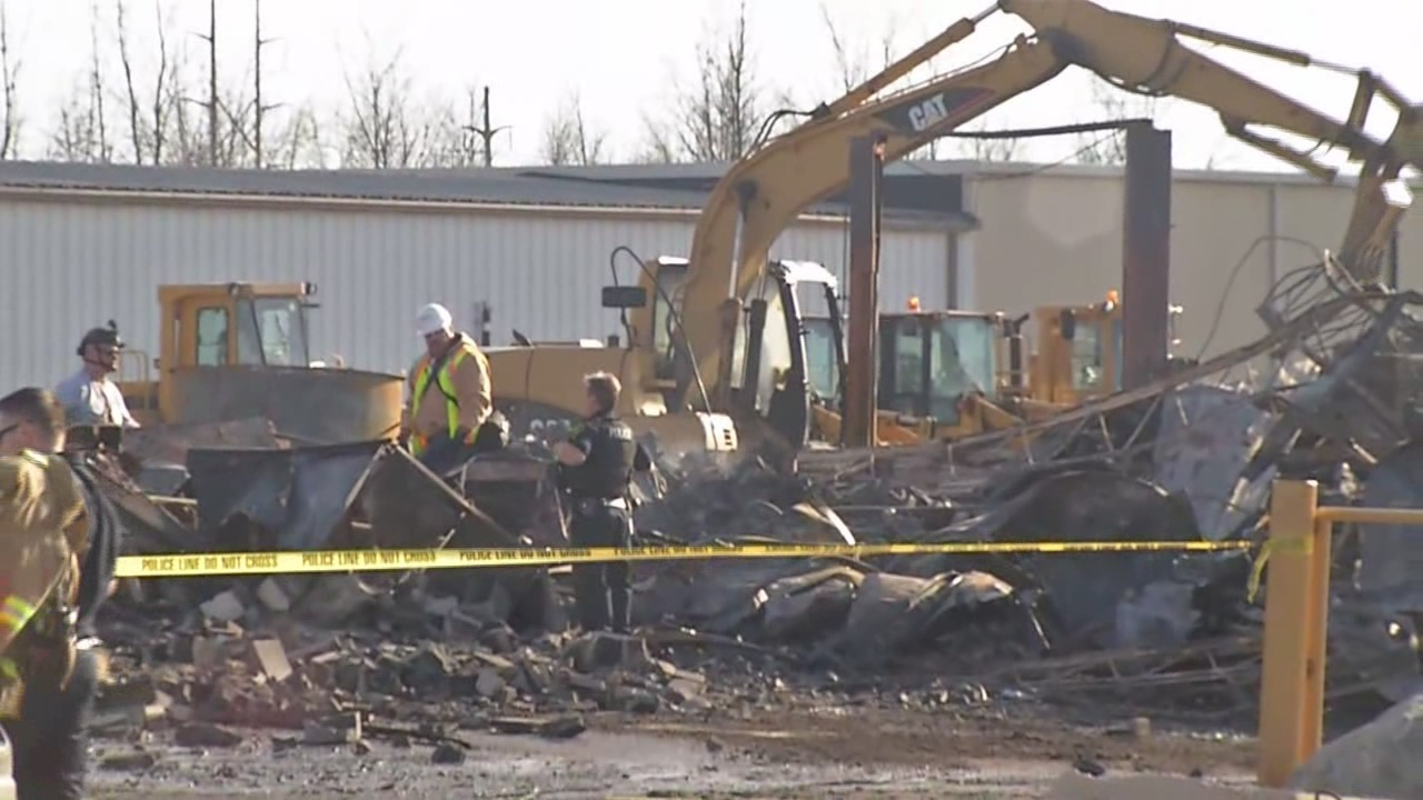 Fire destroys business in Orchard Park