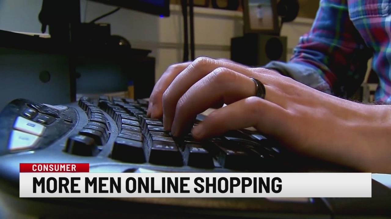 Study: Men shop online more than women